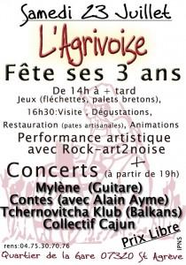 Rock-art2noise à l'agrivoise 2011
